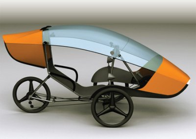 Aerodynamisches Liege-Fahrrad sTrike von Stefano Marchetto