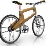 JANO Holz-Fahrrad