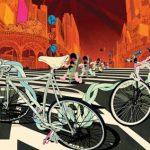 Kunst am Rad: Fahrrad-Illustrationen