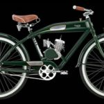 Twin Retro Beachcruiser-Motorrad