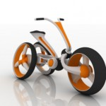 Futuristisch: Rabbit Concept Bike