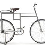 Baubike: Eckiges Rad für Architektur-Liebhaber
