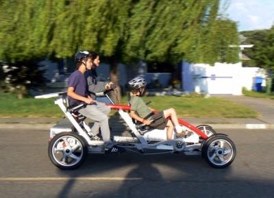 diy solar fahrrad mit 4 r dern