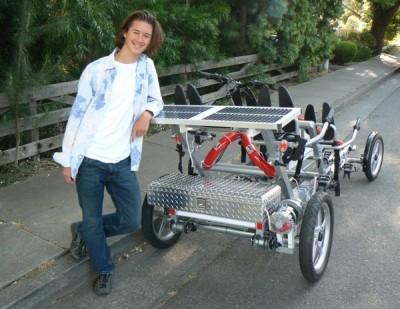 diy solar fahrrad mit 4 r dern. Black Bedroom Furniture Sets. Home Design Ideas