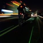 LightLane: Radweg zum Mitnehmen dank Laser