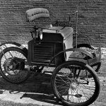 Elektro-Dreirad von 1884!