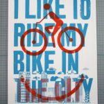 Fahrrad-Poster aus Denver