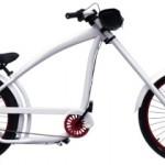 Custom Nirve Cannibal Cruiser bzw. Chopper-Fahrrad mit Elektroantrieb