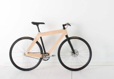 designer fahrrad aus holz und kohlenstoff von gary galego. Black Bedroom Furniture Sets. Home Design Ideas