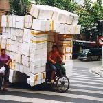 Rad fahren in China