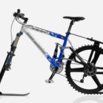 Ktrak: Ski fahren und Rad fahren in Einem!