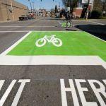 Grüne Radweg-Box soll Leben retten