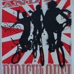 Fahrrad und BMX-Poster: Liebe und sei lächerlich