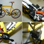 Fixed Gear Bike aus LEGO