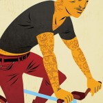 Illustrationen: Bicycles and Tattoos von Matthew Taylor