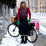 Winterliche Radtour in Chicago mit Dottie und Trisha