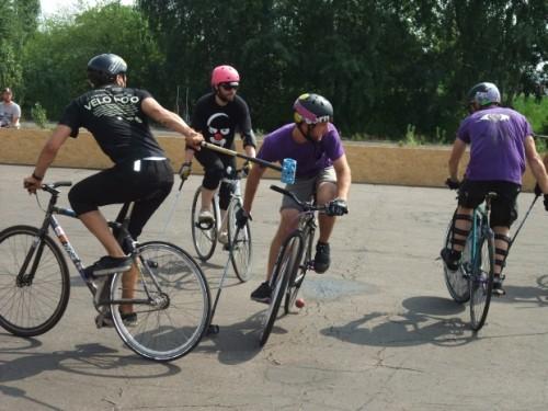 Bike Polo WM, Bilder von den Spielen