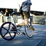 Radfahrer in Portland – Bilder von Micah Fischer