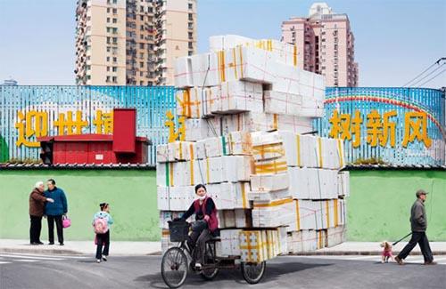 Alain Delorme: Lastenräder in China