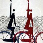 Historische Fahrrad-Plakate aus über 100 Jahren