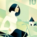 Art Deco Illustrationen von Mads Berg