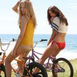 BMX Räder am Strand