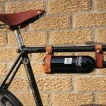 Weinflaschen-Halter/Träger fürs Fahrrad
