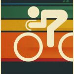Cycle: Retro Radsport-Poster