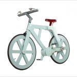 Fahrrad aus Pappe für eine Handvoll Dollar