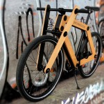 Sandwichbike: Holzfahrrad zum selbst zusammenbauen