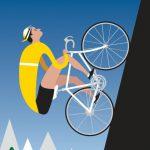 Radsport-Plakate von Michael Valenti