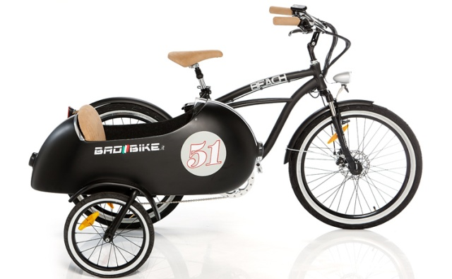 cargobike anders elektro cruiser mit beiwagen. Black Bedroom Furniture Sets. Home Design Ideas