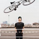 Das Fahrrad im Museum der Arbeit Hamburg
