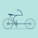 Fahrrad-Ikonen von Arzu Sendag