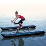 Schiller X1 Wasserfahrrad statt Tretboot