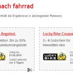Bikes und Zubehör billiger bei Lucky Bike