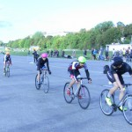 Fixie-Rennen auf dem Tempelhofer Feld