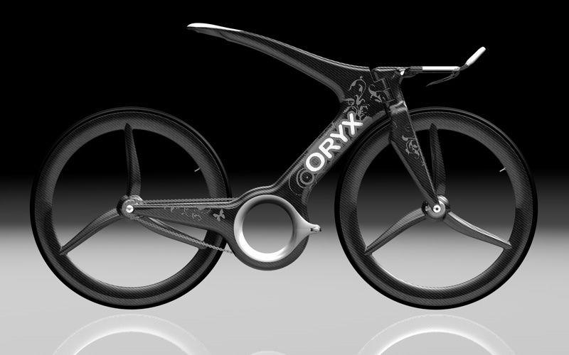 Harald Cramer Oryx Designer Bike aus der Zukunft