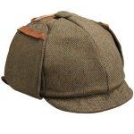 Retro: Sherlock Holmes sein Fahrrad-Helm mit Mütze