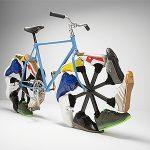Fahrrad laufen mit Schuhen statt Reifen