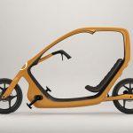 Überdachtes Liege-Fahrrad ThisWay von Torkel Döhmers