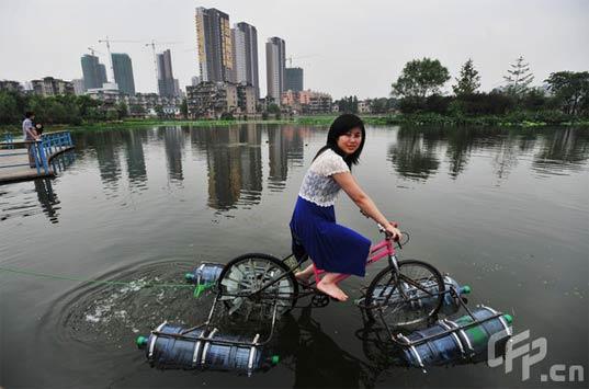 DIY Wasser-Fahrrad aus China