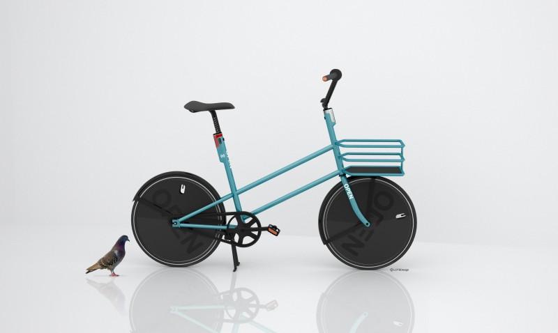 OPENbike Cityrad-Entwurf
