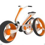 Futuristisches Dreirad: Rabbit Concept Bike