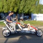 DIY Solar-Fahrrad mit 4 Rädern