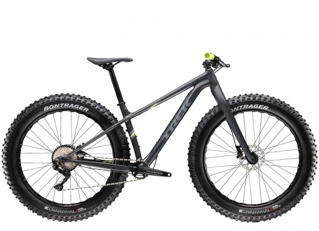 Trek Farley 5 (2020) in grau bzw. anthrazit