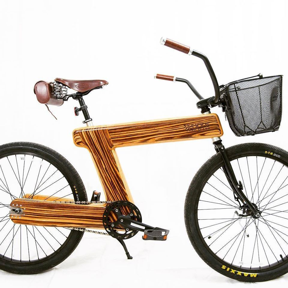 Holzfahrrad von Woody Bicycles.