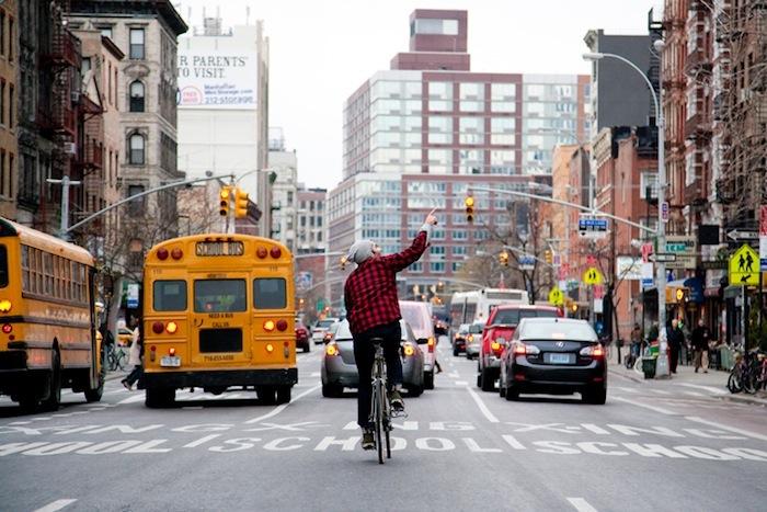 Downtown from Behind Foto-Projekt von Bridget Flemming