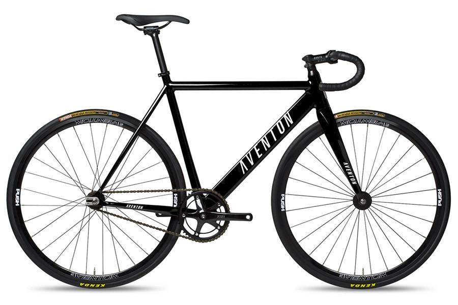 Aventon Cordoba Fixie-Bike in schwarz