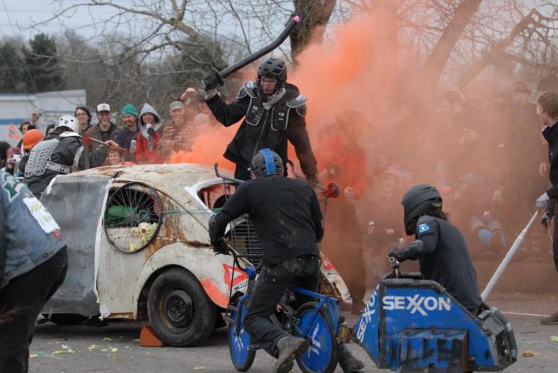 Auf der Straße herrscht Krieg!